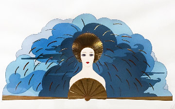 Storm 1987 Limited Edition Print by  Erte