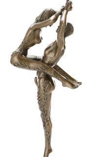 Amants Bronze Sculpture 1984 19 in Sculpture by  Erte
