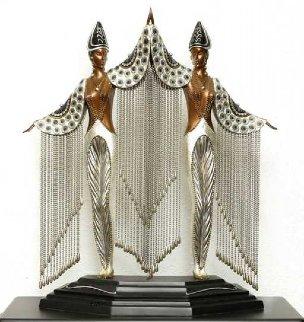 Les Bijoux De Perles   Bronze Sculpture 18 in Sculpture by  Erte