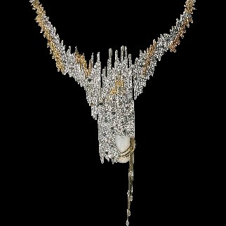 Sophistication Necklace 1984 Jewelry by  Erte