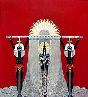 Egyptian AP 1986 Limited Edition Print -  Erte