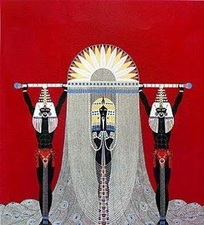 Egyptian AP 1986 Limited Edition Print -  Erte