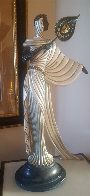 Tanagra Bronze Sculpture 1988 21 in Sculpture by  Erte - 1