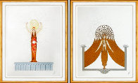 Myth: Diana and Circe 1986 Suite of 2 Embellished Limited Edition Print by  Erte - 0