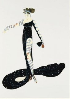 Le Marveilleuse 1979 Limited Edition Print -  Erte