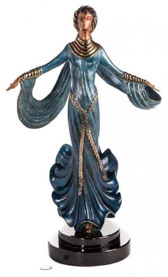 Ecstasy Bronze Sculpture 1989 20 in Sculpture by  Erte