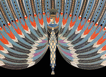 Nile 1980 Limited Edition Print by  Erte