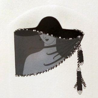 Veil Ap Limited Edition Print -  Erte