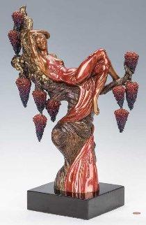 Heat Bronze Sculpture AP 1987  19 in Sculpture -  Erte