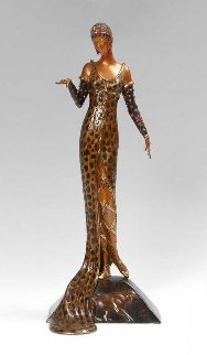 Julietta Bronze Sculpture AP 1987 18 in Sculpture by  Erte