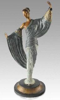 In the Evening Bronze Sculpture 1984 20 in Sculpture by  Erte
