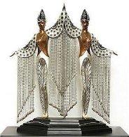 Les Bijoux De Perles Bronze Sculpture 1991 18 in Sculpture by  Erte - 0