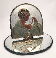 Sophistication Table Mirror 1997 17 in Sculpture by  Erte - 0