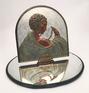 Sophistication Table Mirror 1997 17 in Sculpture by  Erte