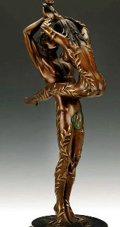 Amants Bronze Sculpture 1983 19 in Sculpture -  Erte