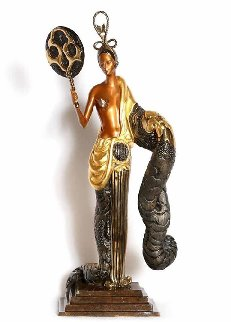 Bamboo Bronze Sculpture 1989 22 in Sculpture -  Erte