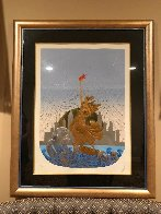 Statue of Liberty Suite of 2 1986 Limited Edition Print by  Erte - 2