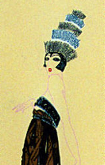 Temptress  AP 1979 Limited Edition Print by  Erte