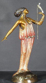 Love Goddess Bronze Sculpture 1988 20 in Sculpture by  Erte