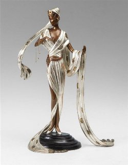 Scheherezade Bronze Sculpture 1990 19 in Sculpture -  Erte