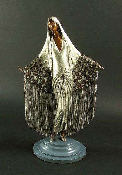 Beloved Bronze Sculpture 1987 17 in Sculpture by  Erte