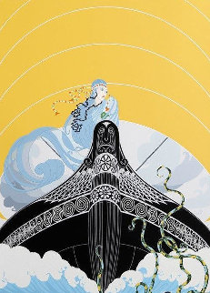 Surprises of the Sea 1982 Limited Edition Print by  Erte