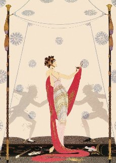 Duel AP 1981 Limited Edition Print by  Erte