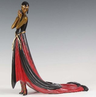 Splendor Bronze Sculpture 1982 14 in Sculpture -  Erte