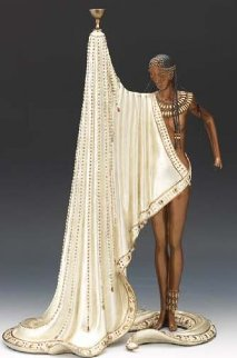 Slave Bronze Sculpture 1990 18 in Sculpture -  Erte