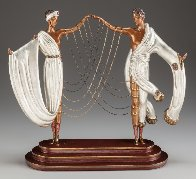 Wedding Bronze Sculpture 1986 17 in  Sculpture by  Erte - 1