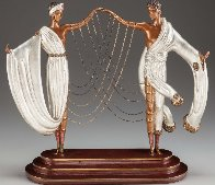 Wedding Bronze Sculpture 1986 17 in  Sculpture by  Erte - 0