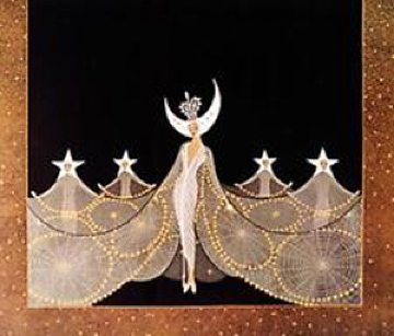 Queen of the Night 1985 Limited Edition Print by  Erte
