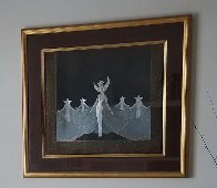 Queen of the Night 1985 Limited Edition Print by  Erte - 1