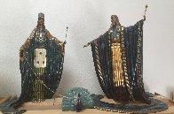 Zeus and Heda Bronze Sculpture 1989 Sculpture by  Erte - 1
