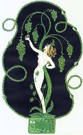 Precious Stones Complete Suite of 6 1969  Limited Edition Print by  Erte - 0