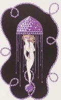 Precious Stones Complete Suite of 6 1969  Limited Edition Print by  Erte - 5