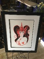 Precious Stones Complete Suite of 6 1969  Limited Edition Print by  Erte - 12