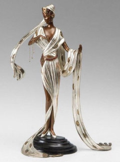 Scheherazade Bronze Sculpture 1990 19 in Sculpture -  Erte