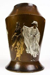 Celebration Objets D'art Bronze  Vase 1986 17 in Sculpture by  Erte