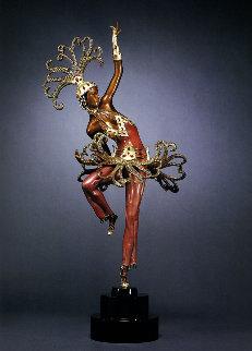 Fire Dancer Bronze 2008 23 in Sculpture by  Erte