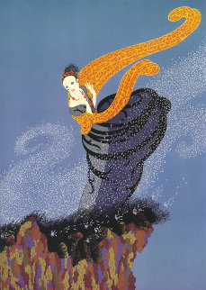 Summer Breeze 1977 Limited Edition Print by  Erte