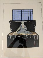 7 Deadly Sins: Series Avarice 1983 Limited Edition Print by  Erte - 3
