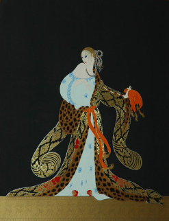 Rigoletto 1985 Limited Edition Print by  Erte
