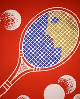 Tennis 1974 AP Limited Edition Print by  Erte