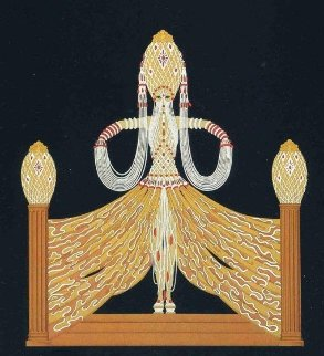 Enchantress 1986 68x28 Super Huge  Limited Edition Print -  Erte