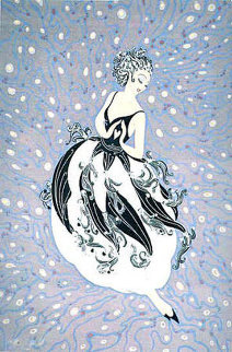 Tuxedo 1987 Limited Edition Print by  Erte