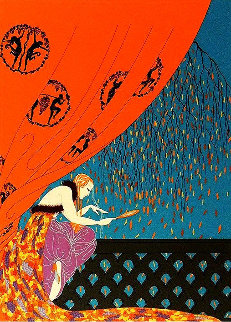 Fall 1979 Limited Edition Print -  Erte