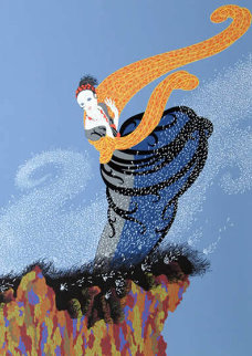 Summer Breeze 1977 Limited Edition Print -  Erte