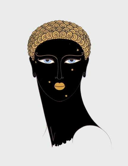 Queen of Sheba 1980 Limited Edition Print by  Erte
