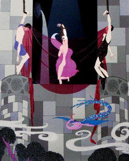 Chaste Susanna AP 1980 Limited Edition Print by  Erte